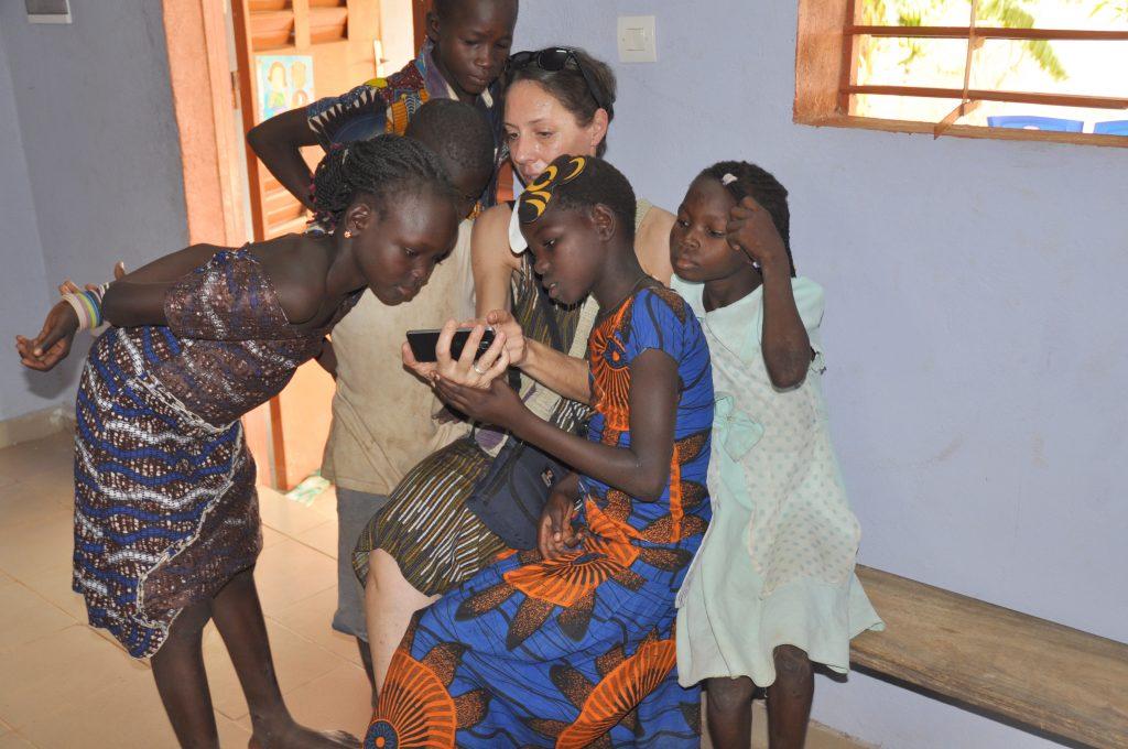 enfants burkinabès